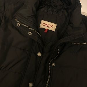 Only Jackets & Coats - Long Puffer Jacket (XS-Black)